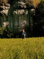 A small Hobbit in a big, big world by Wish-UponAStar