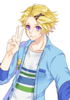 Mystic Messenger: Yoosung by rossomimi