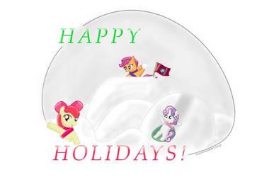 Happy Holidays! by ColorCoatedArt
