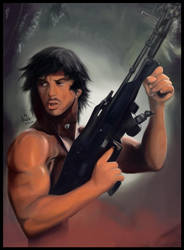 Rambo by MonicaHooda