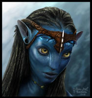 Neytiri by MonicaHooda