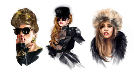 Gaga in Russia by AnnikeAndrews