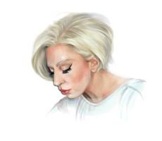Blonde Gaga by AnnikeAndrews