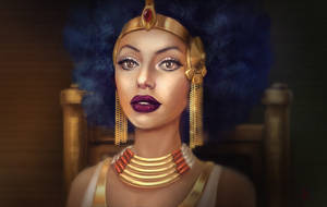 Cleopatra speedpaint by AnnikeAndrews