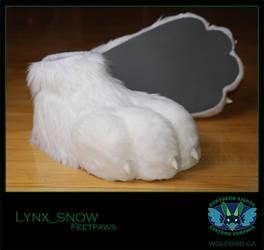 Lynx Feetpaws by Wolfbird