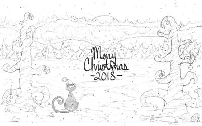 Merry Christmas -2018- by SenbreadScribbles