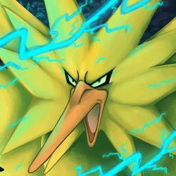 Angry Zap Bird by SenbreadScribbles