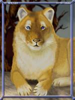 Lioness by WindSeeker