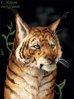 Tiger Cat by WindSeeker