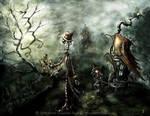 Skeleton in Love by senyphine