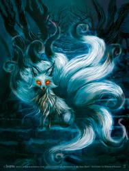 Kitsune by senyphine