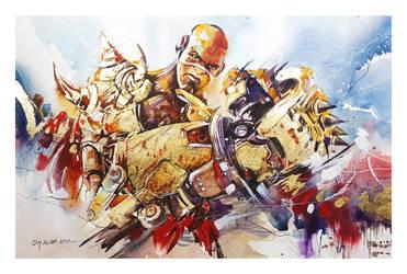 Overwatch - Doomfist by Abstractmusiq