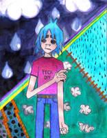 2D- Sad for a Day by GhettoRainbowCat