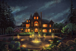 Rhine House by chateaugrief