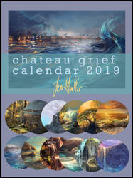 Chateau Grief 2019 Calendar by chateaugrief