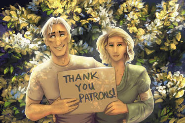 Thank you Patrons! by chateaugrief