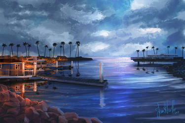 Oceanside Harbor by chateaugrief