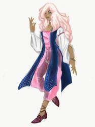 Violet Barrenton by MidBlueViolet
