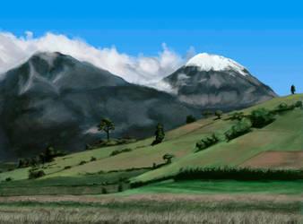 Study of Pico de Orizaba by TheSax66