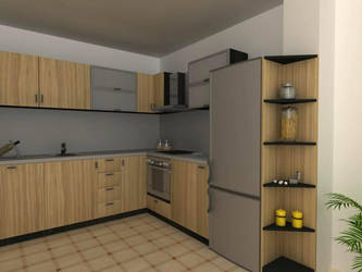 kitchen zebrano 1 by shno
