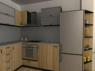 kitchen zebrano 2 by shno