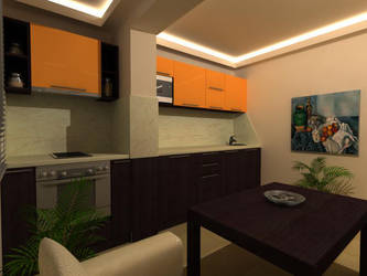 kitchen room 1 by shno