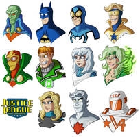 Justice League International by SilverCrab