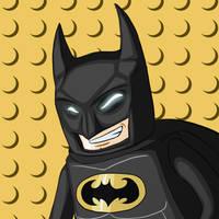 Lego Batman by SilverCrab