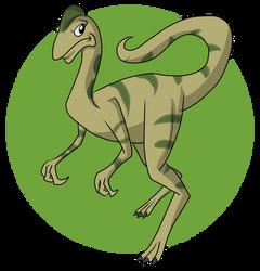 Oviraptor by SilverCrab