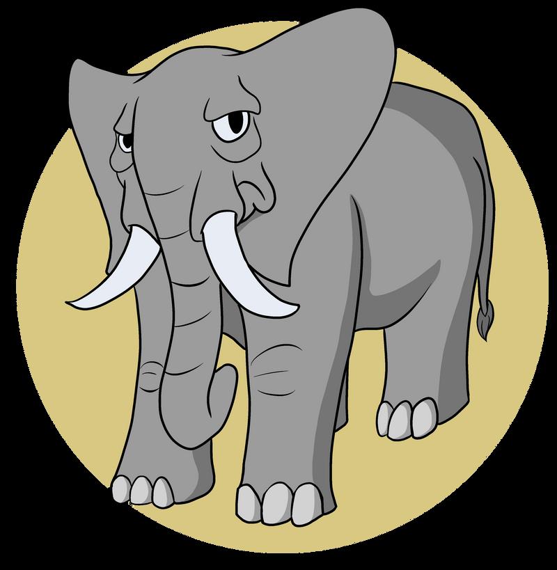 Elephant by SilverCrab