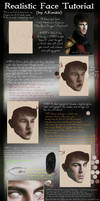 .:Realistic Face Tutorial:. by AKoukis