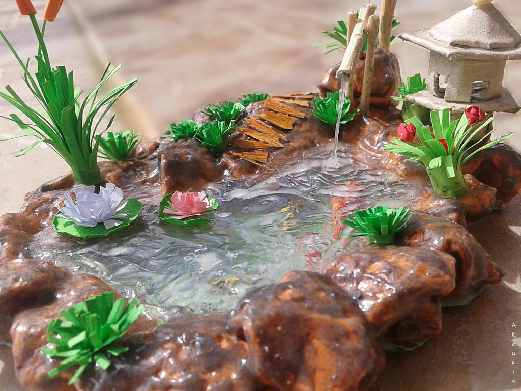 .:Zen Garden:. (Papercraft Model) by AKoukis