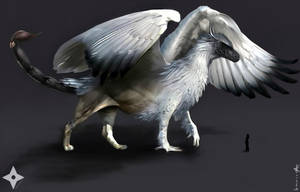Character Concept-Baldur (Phoenix Form) by AKoukis