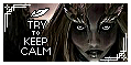 Try To Keep Calm Stamp by AKoukis
