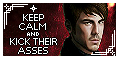 Kick Keep Calm Stamp by AKoukis