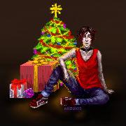 [Comm Bonus] Big Christmas Baxter by AKoukis