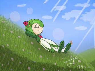 Cosmo Soaking Up The Rays by PepsiPlunge96