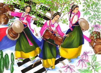 Tanz Korea by dododoris