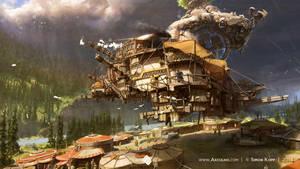 Axculho.com - The Town Island by acapulc0
