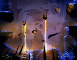 Forlorn Ruins Laser Room Concept by acapulc0