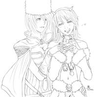 RO: Joule and Raichu by natasmai