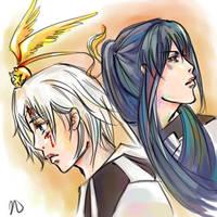 Allen and Kanda by natasmai