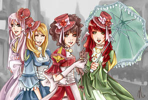 RO: Victorian HPs by natasmai