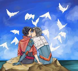Ayato and Haruka by natasmai