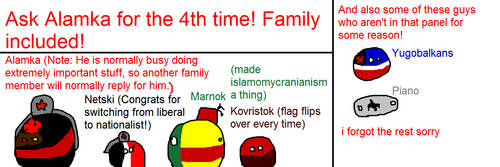 Ask Alamka and his family! (AAF) by SpringTrapthebest