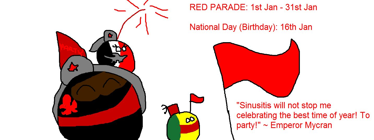 The Red Parade - January 16th by SpringTrapthebest