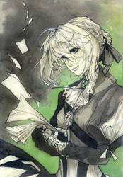 Violet ink 2 by Ariru-chi