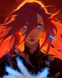 Ready to fight by Ariru-chi