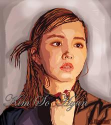 Kim So Hyun by AtListana