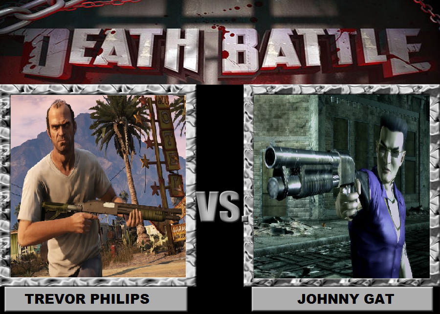 Death Battle Trevor Philips Vs Johnny Gat By Brasc On Deviantart